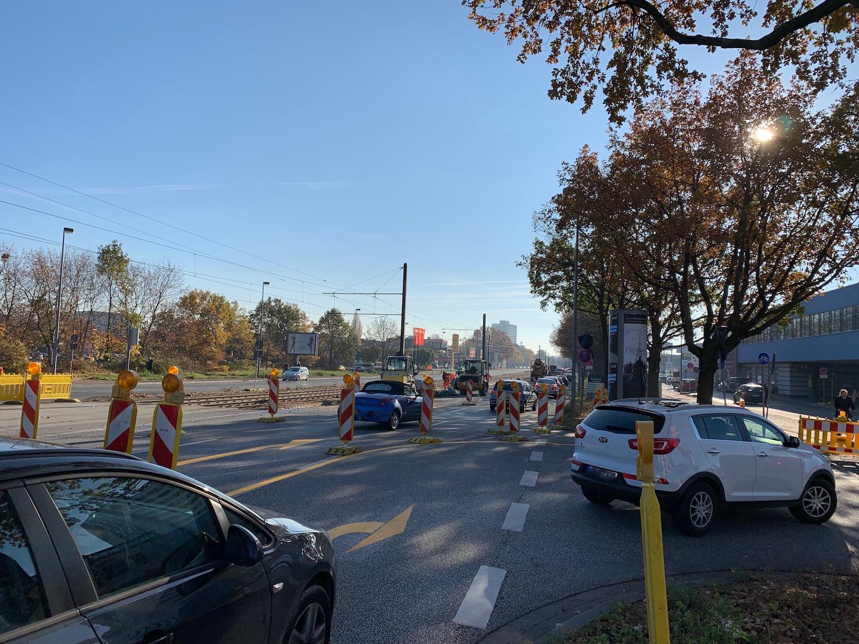 Baustelle Vahrenwalder Strasse Hannover Verkehr De