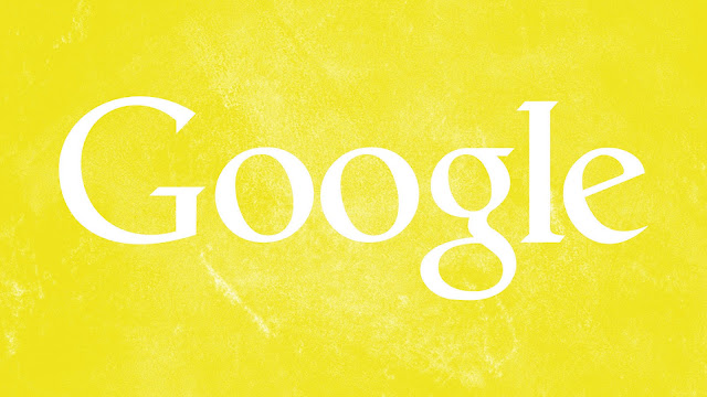 Google Yellow Grunge HD Wallpaper