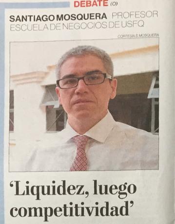 """""""Liquidez, luego competitividad"""""""