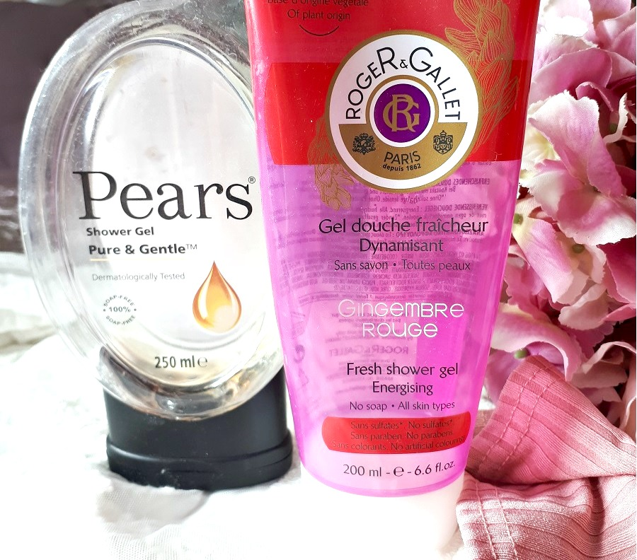 Pears Shower Gel Review, Roger & Gallet shower gel review, The Style Guide Blog