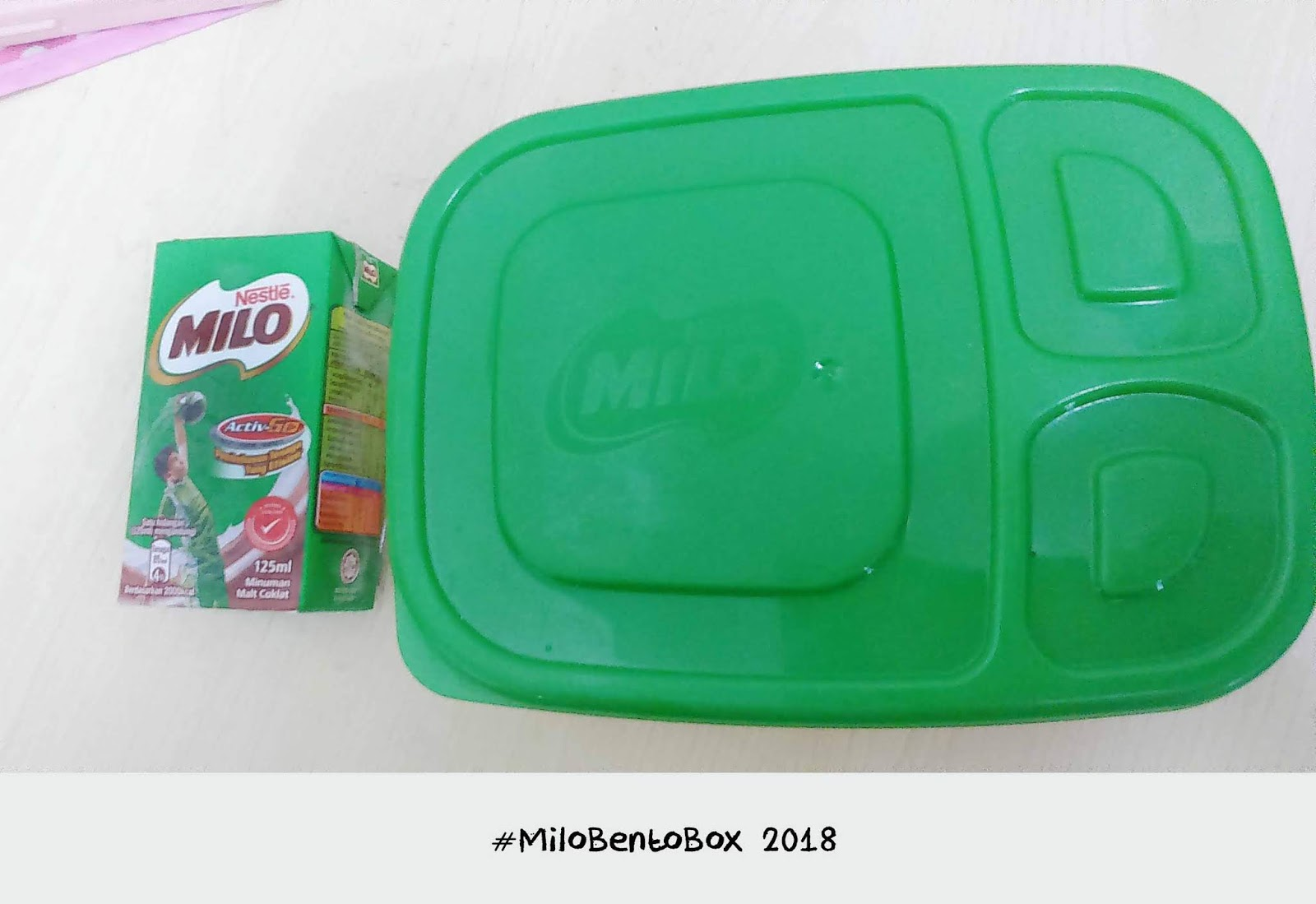 Koleksi Idea Bento Menarik Sempena Peraduan MILO Bento Box 2018 , idea bento menarik, bento mudah, bento cute, bento comel, bento simple, hiasan bento comel