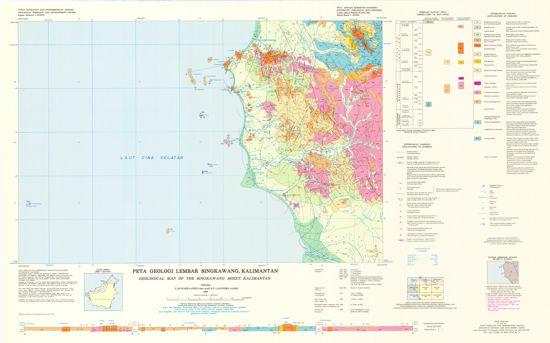 Peta Geologi Singkawang Kalimantan : Download dan Resume