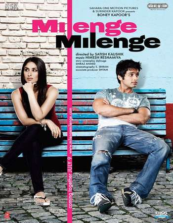 Poster Of Milenge Milenge 2010 Hindi 500MB HDRip 720p ESubs HEVC Watch Online Free Download downloadhub.net