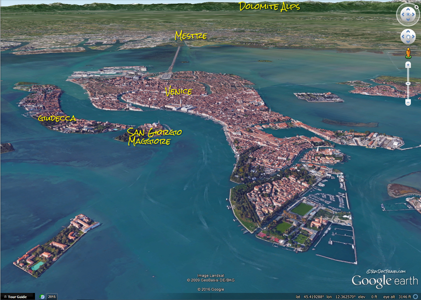 Venice Italy island subsidence flood control Mose project geology science nature explore adventure Europe travel trip copyright rocdoctravel.com