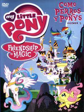 dvd estreno my little pony como perros y ponis latino genero