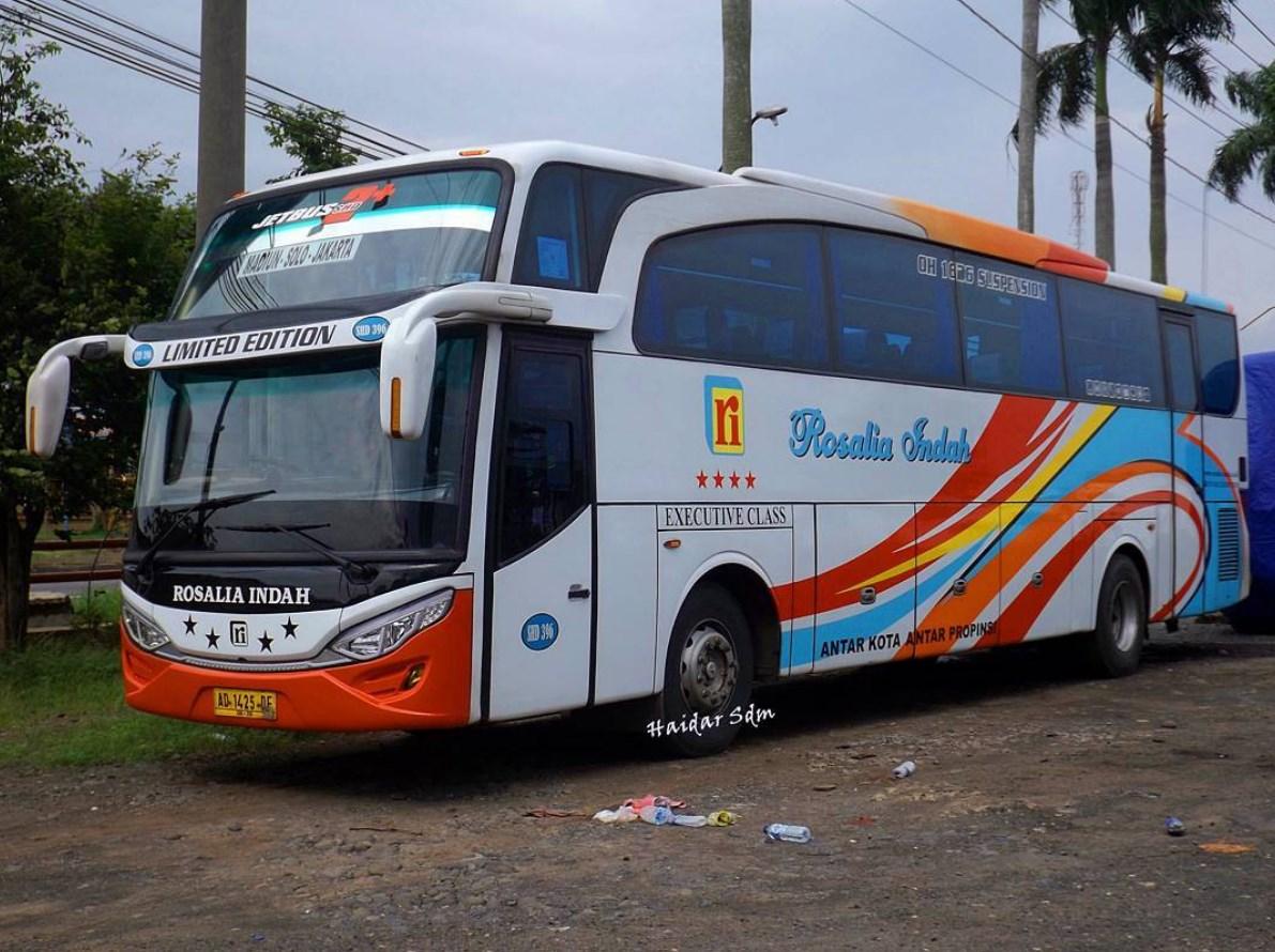Jadwal Bus Rosalia Indah Update Daftar Harga Rute