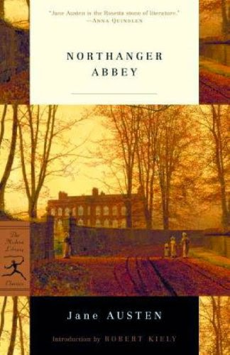 Book cover - Northanger Abbey by Jane Austen