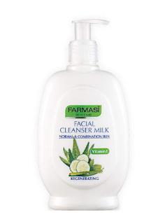Farmasi Yüz Temizleme Sütü-Normal ve karma ciltler için