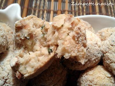 Polpette di fagioli e patate al forno