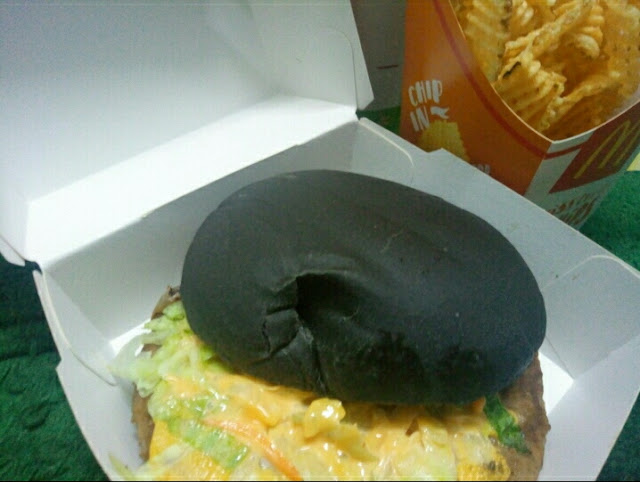 Spicy Korean Burger McDonald's Memang Pedas!