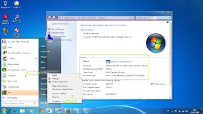 perbedaan windows 32bit dengan 64bit