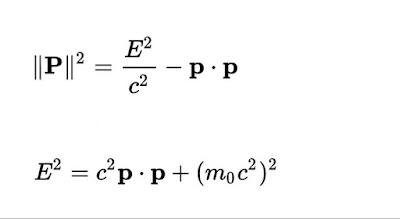 Energia y momento en Relatividad