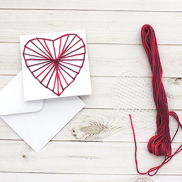 DIY Heart String Art