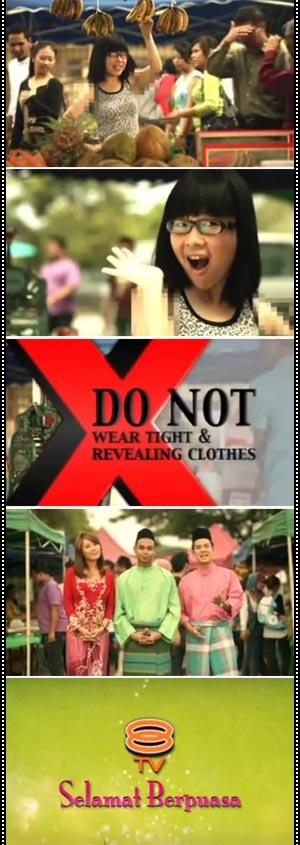 Kontroversi Iklan Ramadhan 8TV Dan TV9