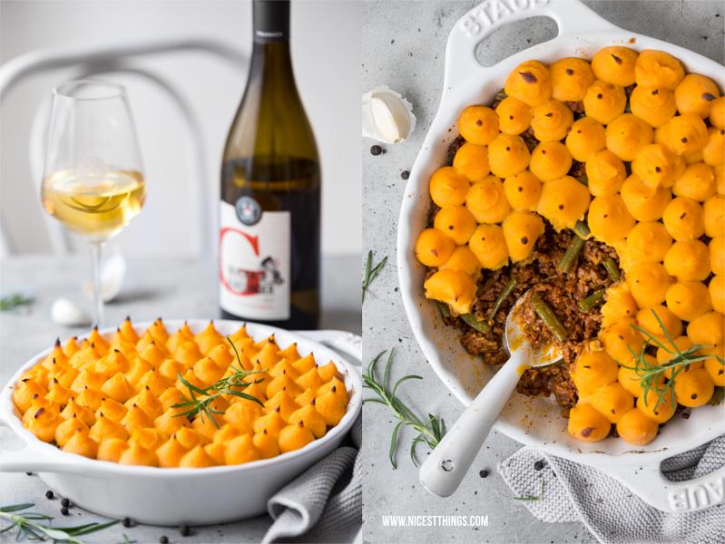 Ostermenu Shepherds Pie mit Lamm und Frankenwein
