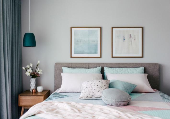 Tejidos y colores ideales para dormir bien