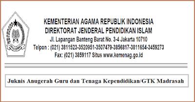 Juknis Anugerah Guru & Tenaga Kependidikan Madrasah 2018 PDF