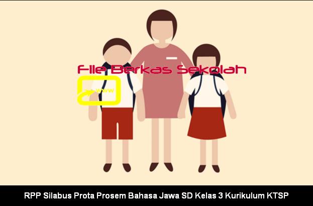RPP Silabus Prota Prosem Bahasa Jawa SD Kelas 3 Kurikulum KTSP