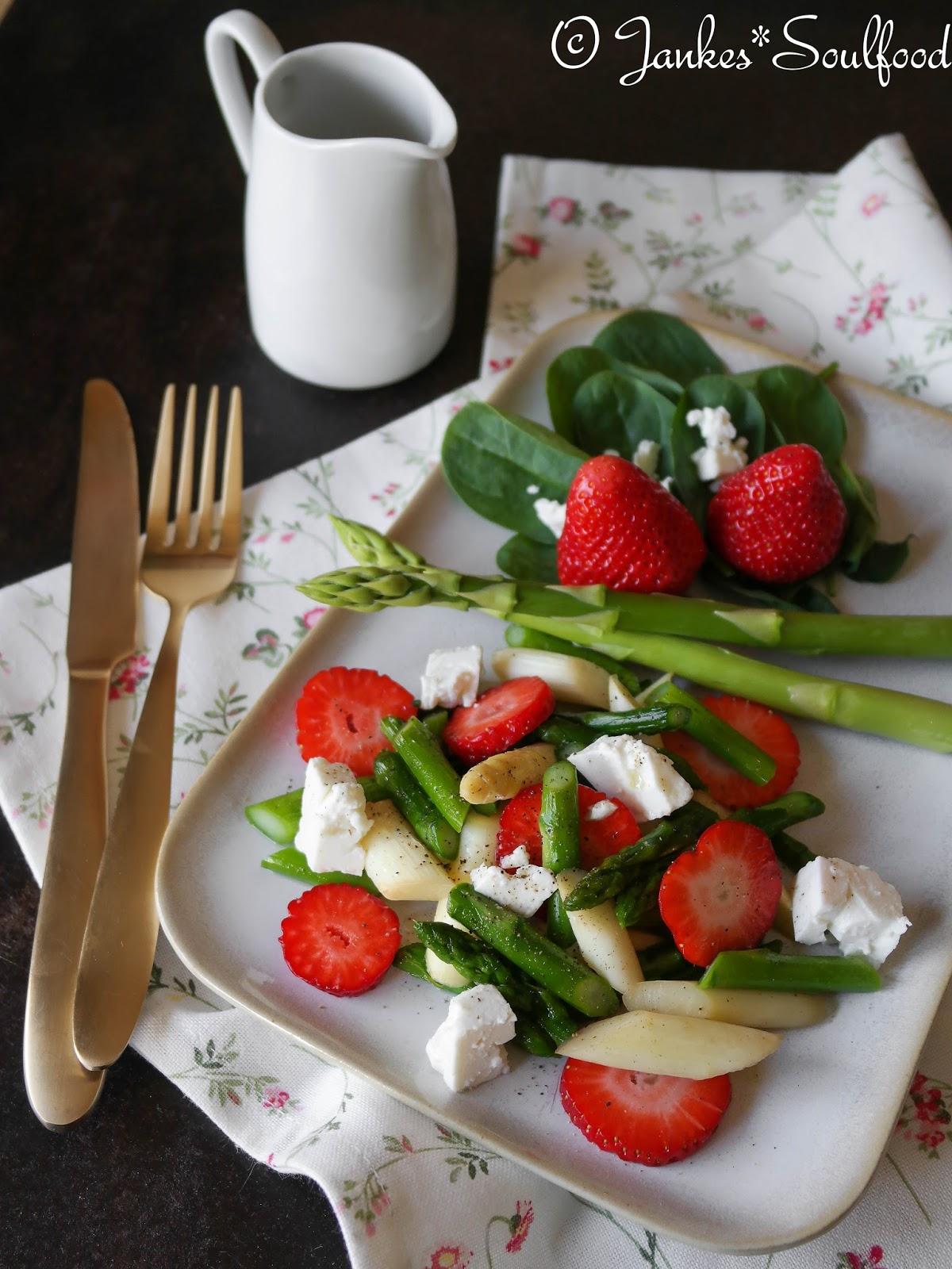 Spargel-Erdbeer-Salat von Jankes*Soulfood