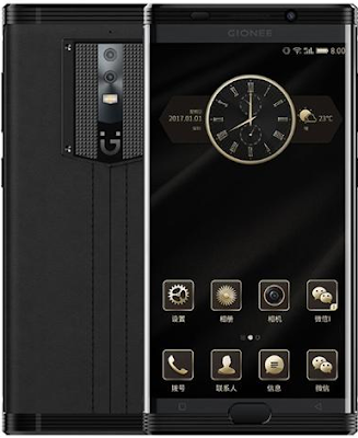 latest gionee m2017 smartphone