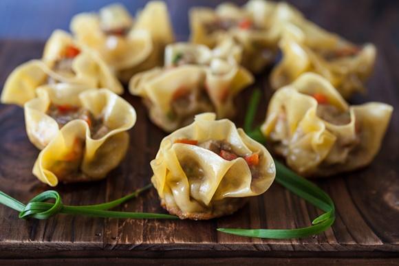 Dumplings Au Boeuf Cari