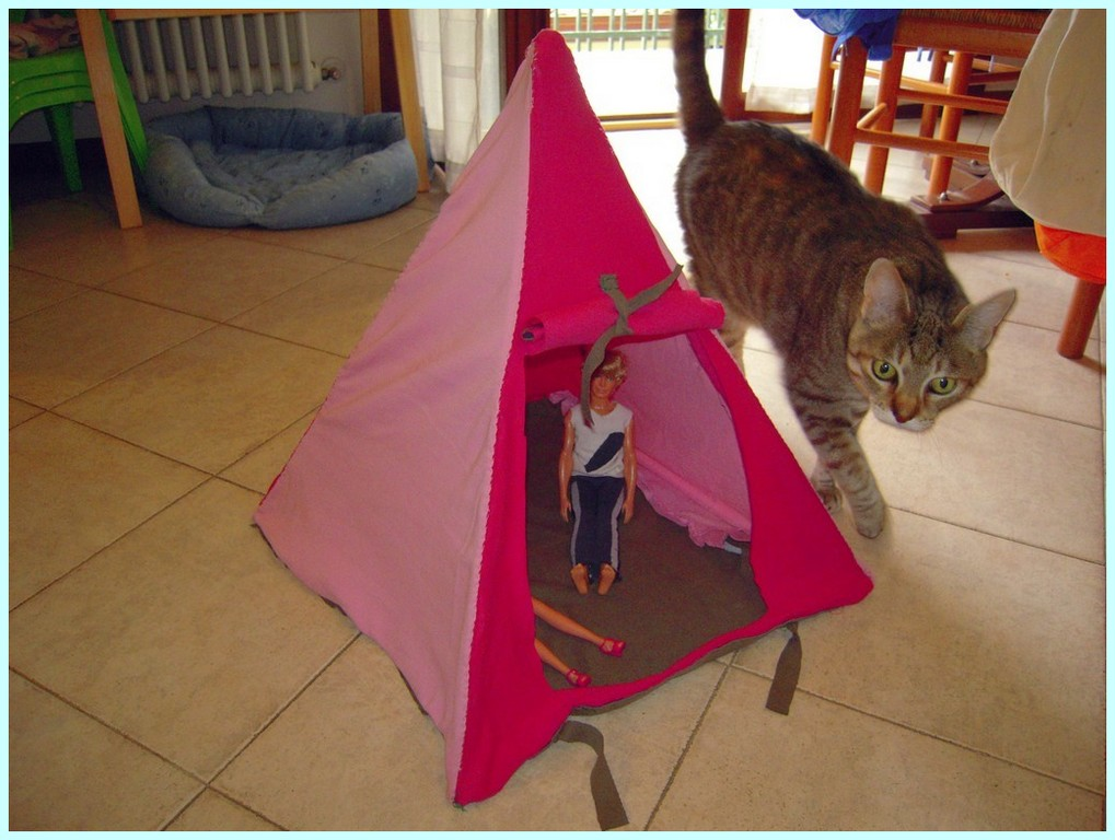 Tenda per Barbie