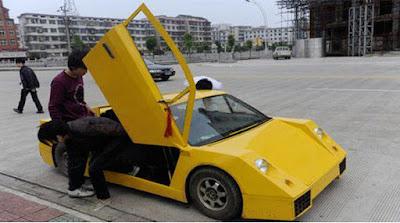 Réplica cutre Lamborghini