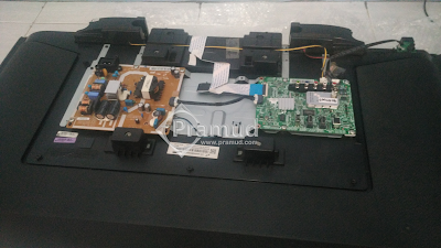 rangkaian psu power supply dan mainboard led tv samsung UA40H5003 - pramud blog