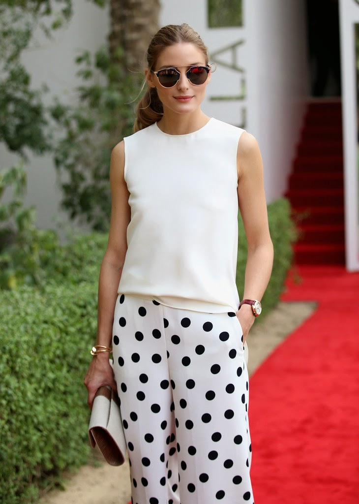 Olivia Palermo At The 10th Anniversary of Cartier International Dubai Polo Challenge 2015 In Dubai