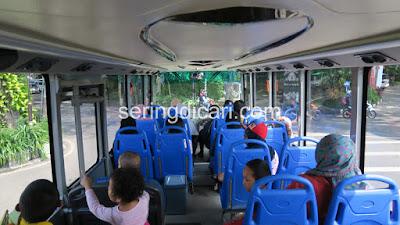 Suasana Dalam Bis Macito Malang City Tour