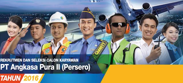 Lowongan Kerja BUMN - PT.Angkasa Pura II September 2016