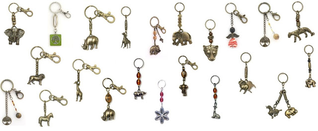 African Curios Key Rings