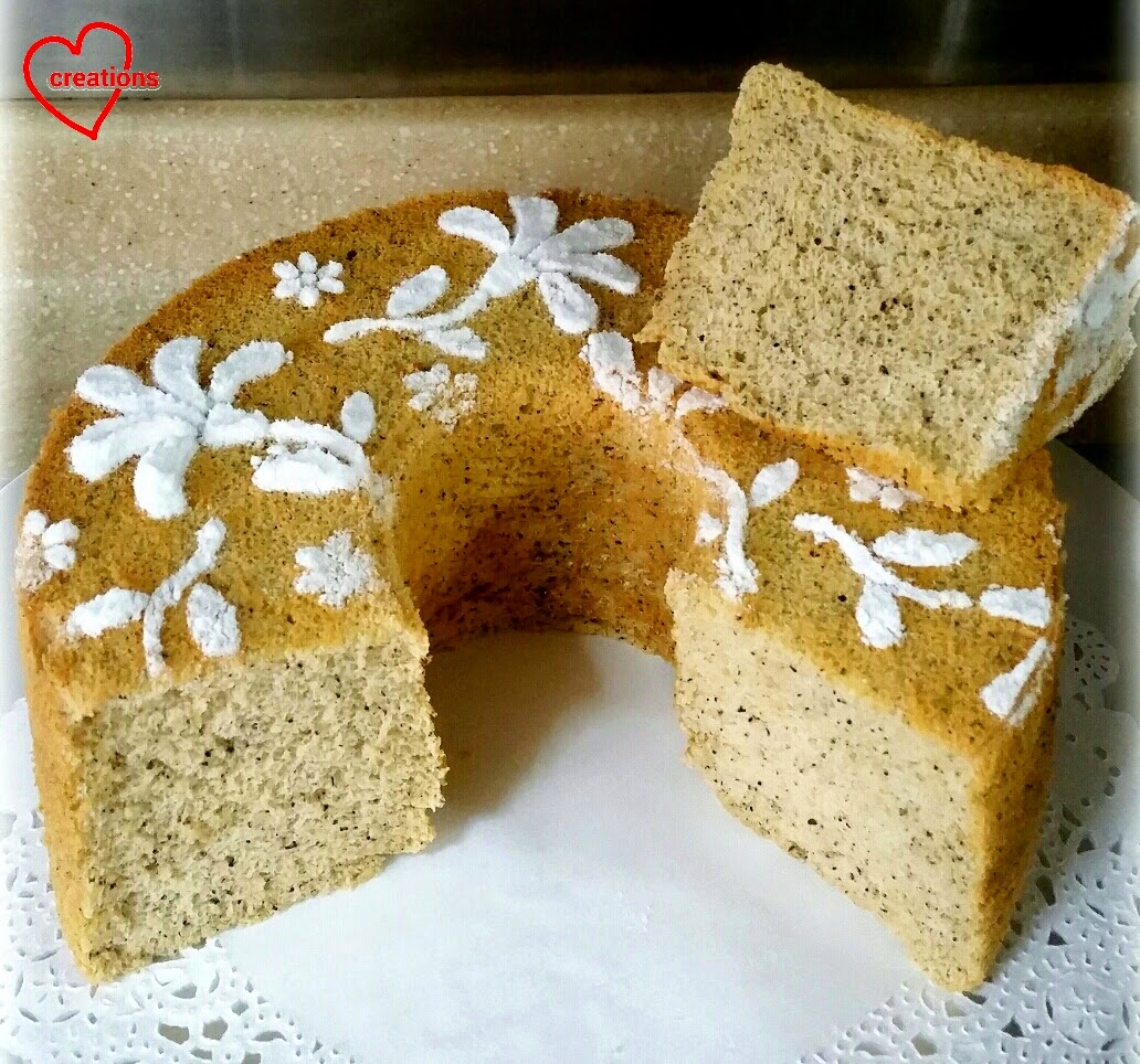 earl grey cake loving creations for you honey earl grey chiffon cake 3784