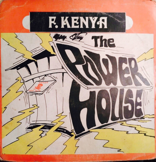 "F. Kenya ""Power House Vol. 2"" 1976 Ghana Afrobeat,Afrofunk"