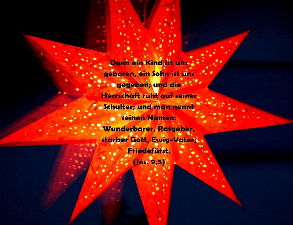 Stern Weihnachten Spruch