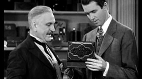 Jimmy Stewart and Frank Morgan in The Shop Around the Corner, released 25 January 1940 worldwartwo.filminspector.com