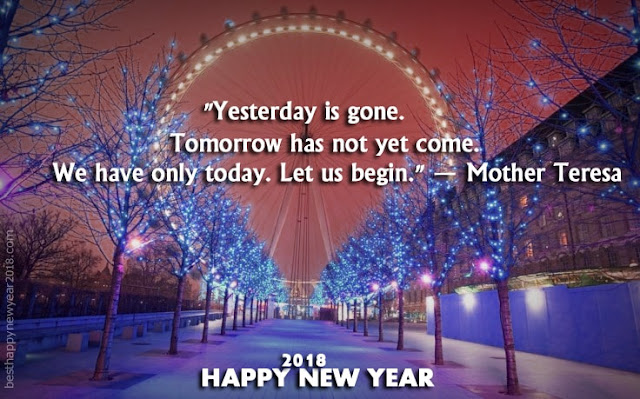 2018 New Year Inspirational Quotes