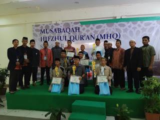 """Sejumlah Lembaga dan Sekolah mengikuti Lomba Musabaqah Hifzhul Qur'an (MHQ)"""