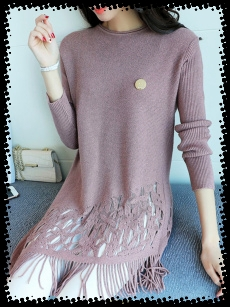 sweater-fringe sweater