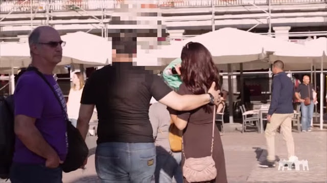Woman Acted Like She Was Drunk In A Public Place, Then These Men Approached Her!