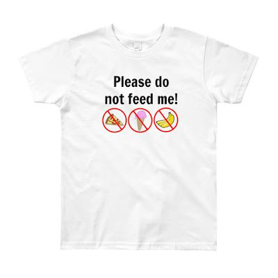 Please Do Not Feed Me shirt from Sunshine and Spoons