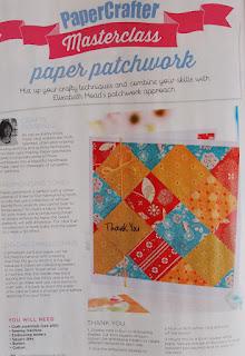 Elizabeth Moad paper patchwork