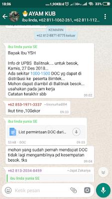 grup whatapps wa ayak kub