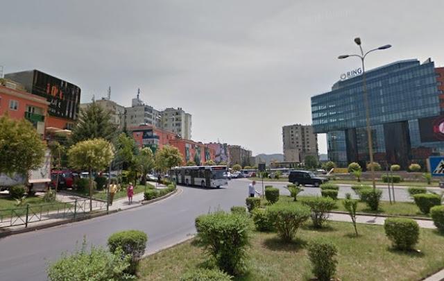 Supermercato stato derubato nei pressi di Zogu i Zi a Tirana