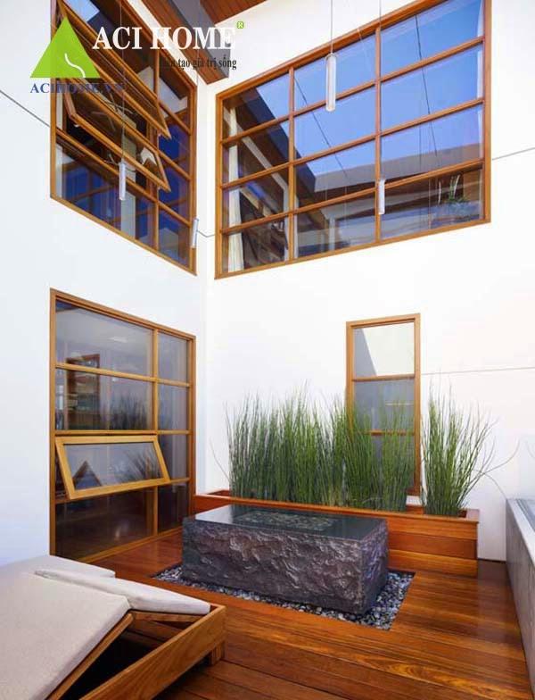 nội thất ốp gỗ