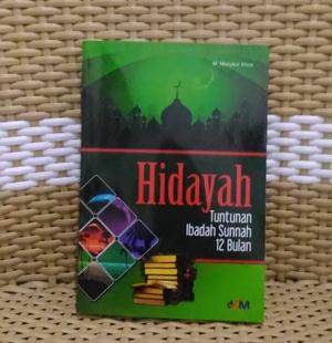Buku Hidayah, Tuntunan Ibadah Sunnah 12 Bulan Toko Buku Aswaja Surabaya