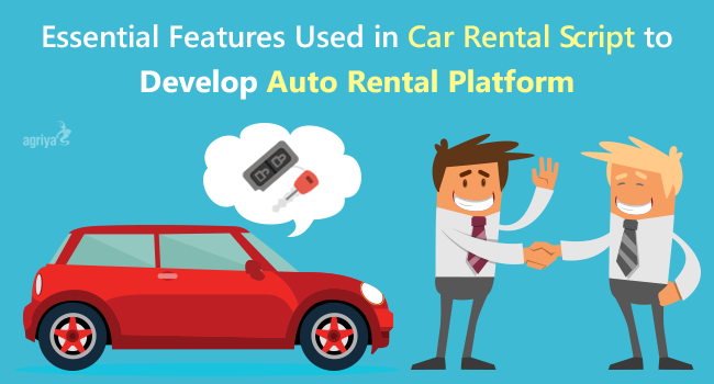 car rental script features