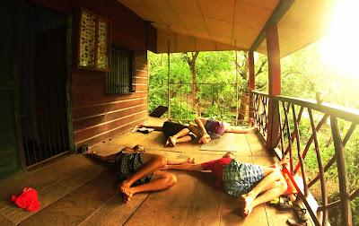 yoga in Laguna de Apoyo