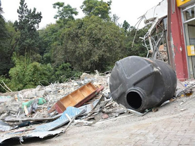 Nairobi houses demolished over River pollution. PHOTO | BARAKA F