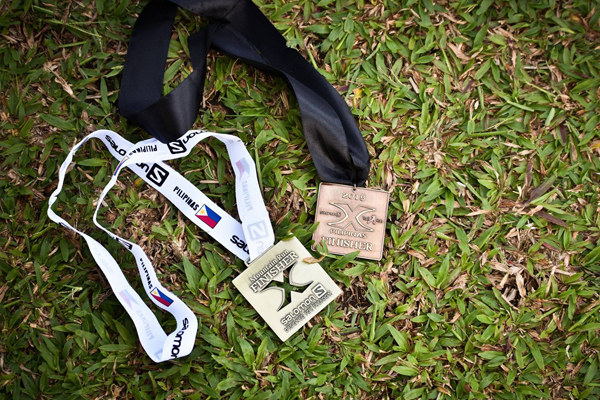 Salomon Xtrail Run 2015 Bacolod Leg medals